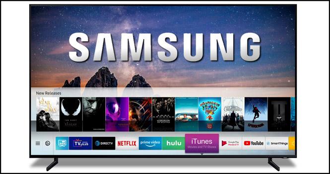پشتیبانی از سرویسهای آی تیونز و ایرپلی 2 اپل در تلویزیون های هوشمند سامسونگ