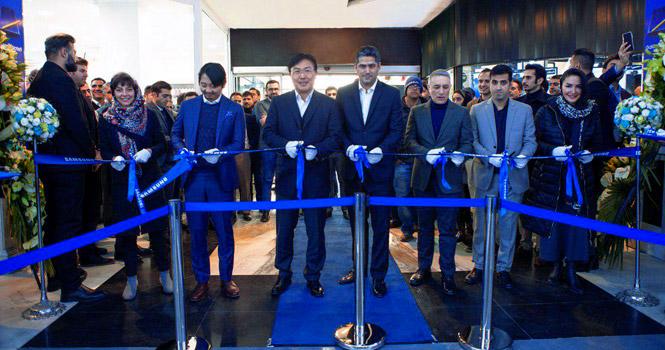 افتتاح فروشگاه موبایل سامسونگ در مجتمع پایتخت تهران