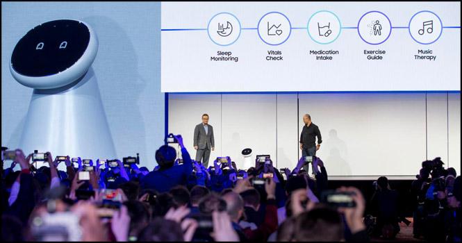 نوآوریهای سامسونگ برای زندگی متصل در CES 2019: هوش مصنوعی، ۵G و اینترنت اشیا