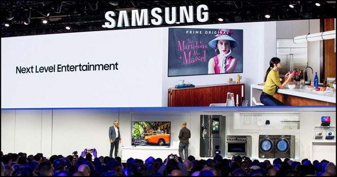 نوآوریهای سامسونگ برای زندگی متصل در CES 2019: هوش مصنوعی، 5G و اینترنت اشیا {hendevaneh.com}{سایتهندوانه} - samsung connect life ces 2019 3 - نوآوریهای سامسونگ برای زندگی متصل در CES 2019: هوش مصنوعی، ۵G و اینترنت اشیا