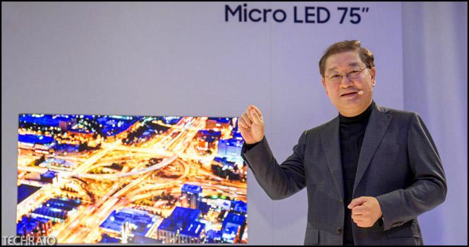 نمایشگرهای مایکرو ال ای دی ماژولار سامسونگ (Micro LED) در CES 2019