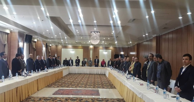 گردهمایی بزرگ اتحادیه صادرکنندگان مخابرات ایران با حضور جمع کثیری از شرکت های عضو اتحادیه و مدیران دولتی حوزه ICT