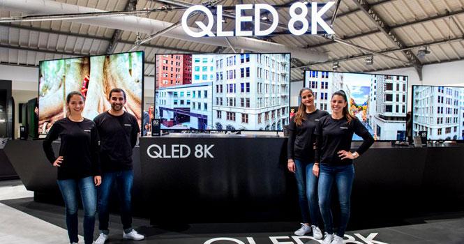 بیکسبی جدید و تلویزیونهای QLED 2019 8K سامسونگ در نمایشگاه فروم 2019