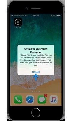 شرکت تپسی راه حل جدیدی برای کاربران iOS خود ارائه داده است.