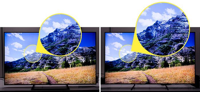 آشنایی با Upscaling یا قابلیت ارتقای کیفیت تصاویر تلویزیونهای سامسونگ