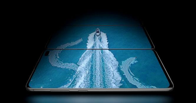 نمایشگر گلکسی S10 سامسونگ ؛ بهترین نمایشگر موبایل آزمایش شده جهان