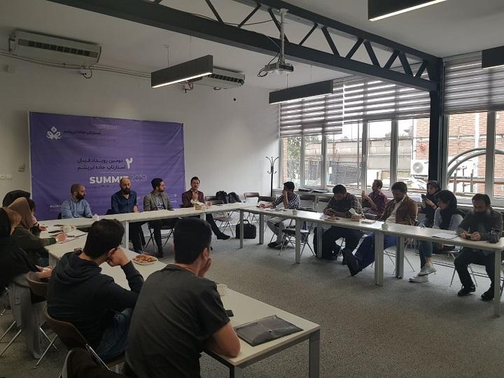 استارتاپ جاده ابریشم رویدادی مستقل و ناسودبر است که توسط ۸ کارآفرین و جامعه ساز استارتاپی بنیان نهاده شده و با کمک ۱۰۰ داوطلب برگزار میشود.