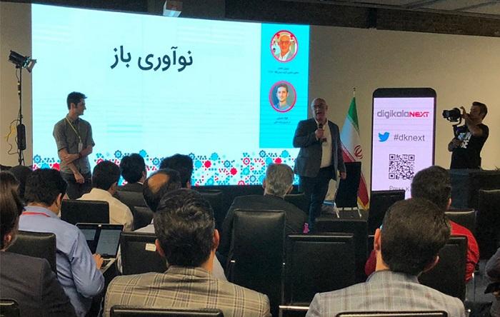 سهیل مقدم، معاون ارشد تکنولوژی دیجیکالا و فواد نصرتی، یکی از مدیران تکنولوژی دیجیکالا