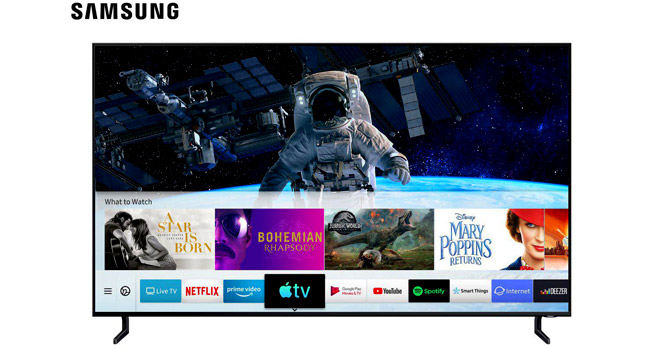 سامسونگ اولین عرضه کننده اپل تیوی بر روی تلویزیون شد
