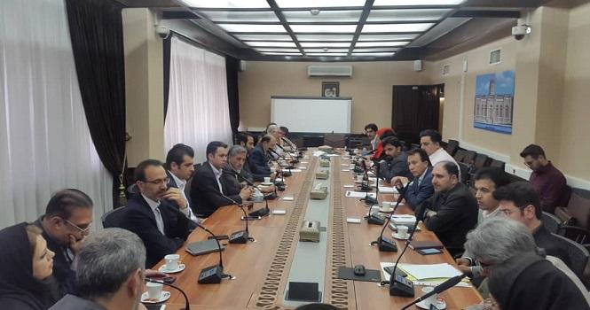 نشست مشترک مدیران صندوق ضمانت صادرات ایران و اعضا اتحادیه صادرکنندگان صنعت مخابرات ایران