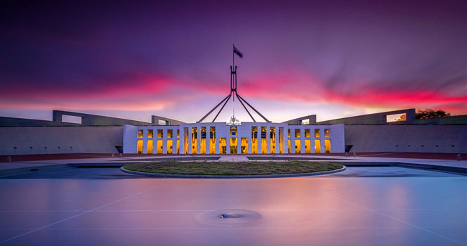 آشنایی با بهترین کشورهای جهان برای مهاجرت و زندگی و تحصیل در سال 2019 میلادی/پارلمان استرالیا-کانبرا