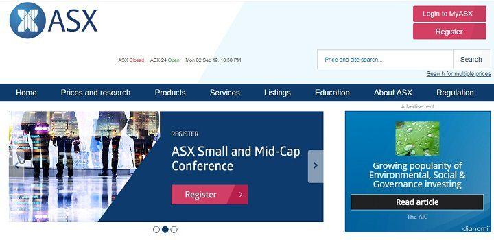 بازار بورس استرالیا در این لینک در دسترس بوده و شما را با شرکتهای پذیرفته شده در بازار سرمایه این کشور آشنا میکند.