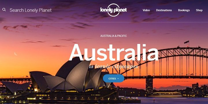 اگر به دنبال همسفر در استرالیا هستید به LONELYPLANET بروید.