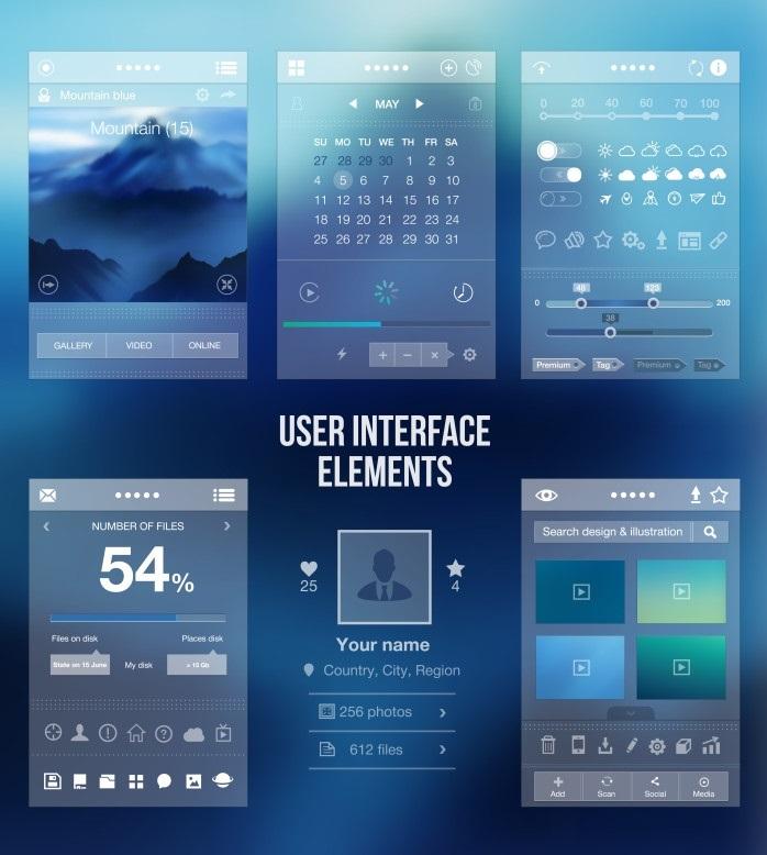 در طراحی اپ همواره به رابط کاربری (UI) شیک توجه کنید