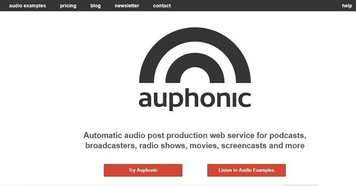 اما اگر به دنبال راه ساده تر هستید، میتوانید از سایت Auphonicاستفاده کنید که این کار را به صورت خودکار برای شما انجام میدهد.