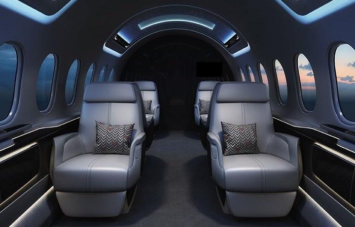 تمیزی خودکار صندلی های هواپیماهای نسل آینده
