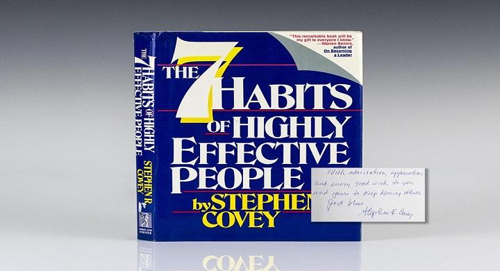 7 عادت افراد بسیار کارآمد