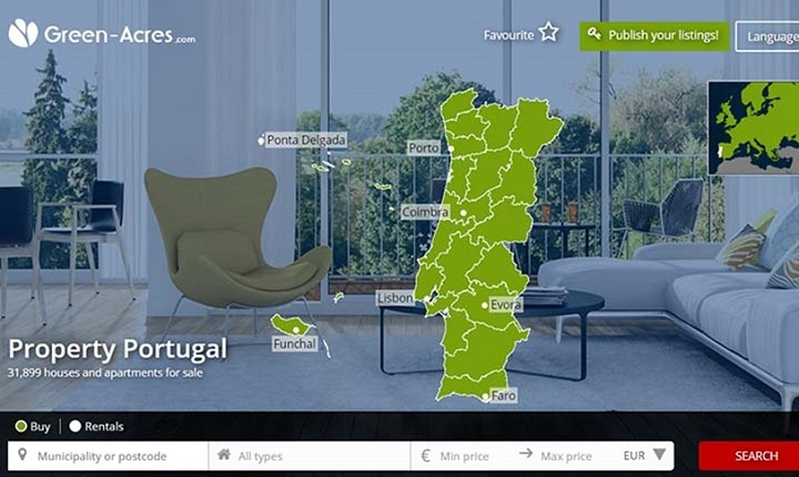 بیش از 32 هزار فرصت خرید آپارتمان با قیمتهای مختلف در سراسر پرتغال در سایت ACRES در اختیار هموطنان علاقمند به سرمایه گذاری در پرتغال قرار دارد