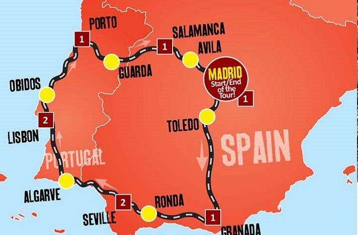 پرتغال، کشوری کوچک در همسایگی غربی اسپانیا و از کوچک ترین و آرام ترین کشورهای اروپا در جنوب این قاره محسوب میشود