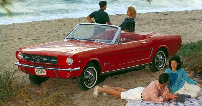 فورد موستانگ مدل سال 1964