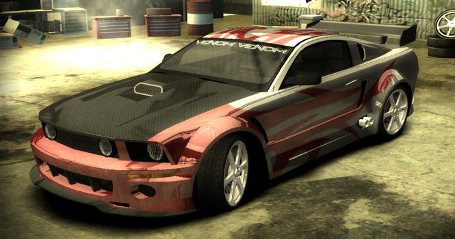 موستانگ GT در بازی Need For Speed Most Wanted
