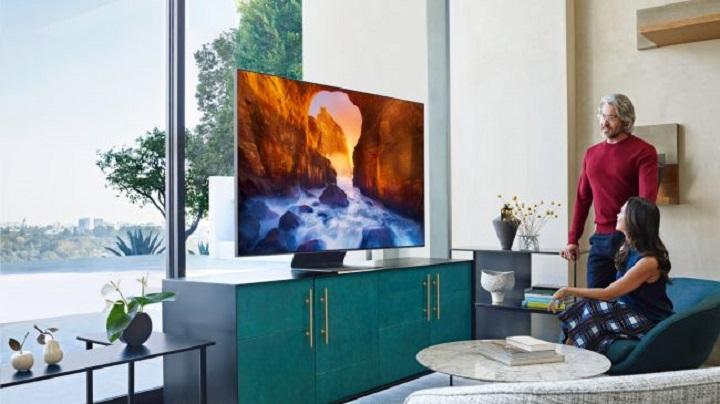 سامسونگ Q90R QLED TV 2019: روشن و زیبا، ولی فاقد چند ویژگی خاص