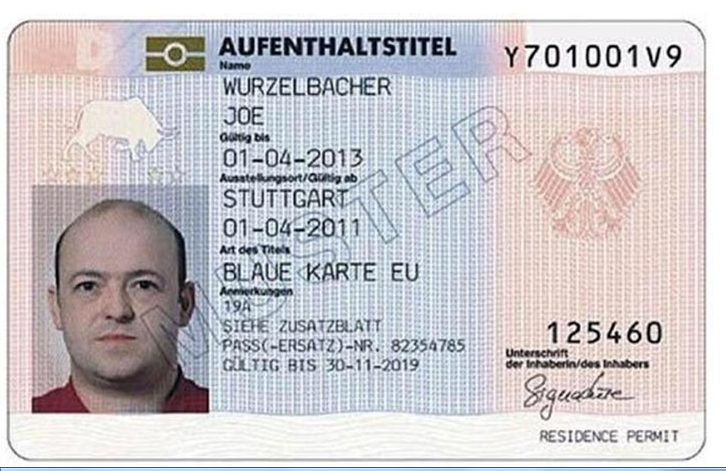 دریافت بلو کارت آلمان 2020