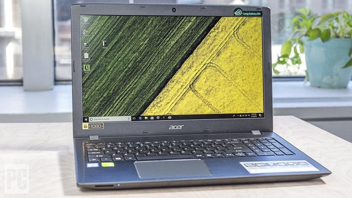 ایسر اسپایر ای 15 (Acer Aspire E 15): دارای رم 8، حافظه داخلی 256 گیگابایتی SSD و نسل هشتم پردازشگر اینتل Core i5-8250U