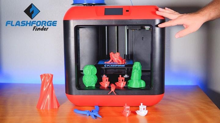 فلش فورج فایندر 3 (Flashforge Finder 3D): بهترین پرینتر 3 بعدی زیر 500 دلار