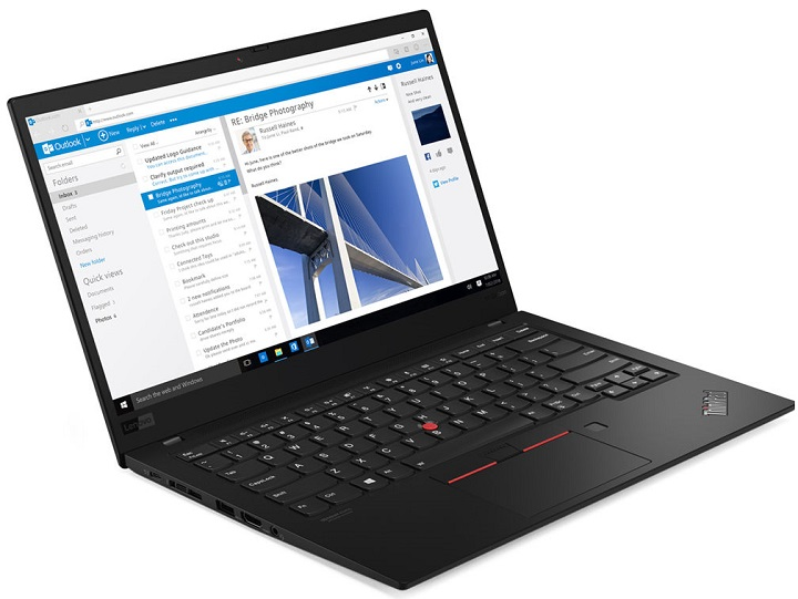 بهترین لپ تاپ تجاری حمل پذیر: لنوو تینک پد ایکس 1 کربن (Lenovo ThinkPad X1 Carbon)