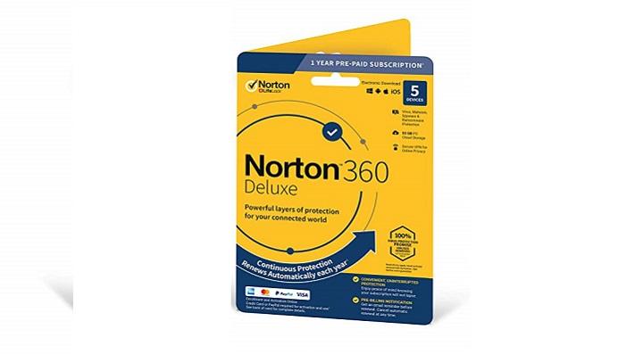 بهترین آنتی ویروس اشتراکی ویندوزی: نوترون سکیوریتی 360 دولوکس (Norton Security 360 Deluxe)