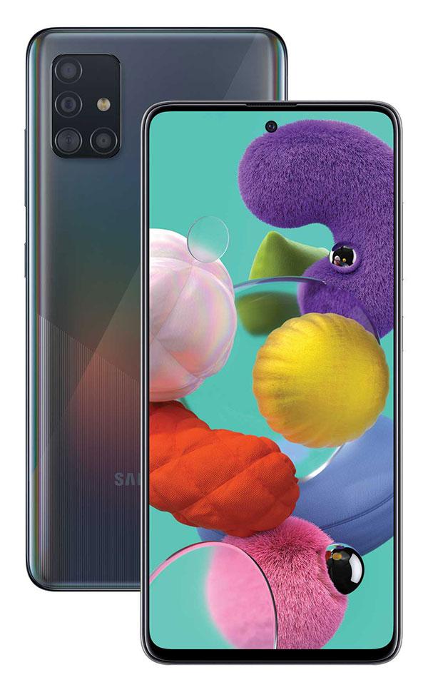 گوشی های جدید سری A سامسونگ معرفی شدند: گلکسی A71 و گلکسی A51