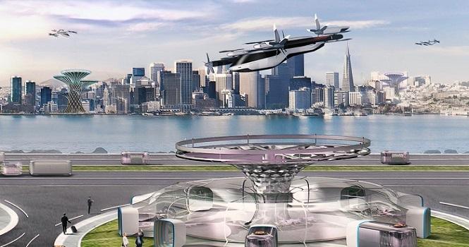 رونمایی از ماشین پرنده هیوندای در نمایشگاه CES 2020