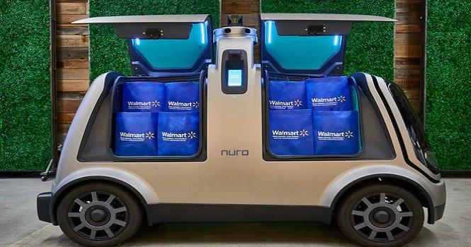 اتومبیلهای خودران «وال مارت» به جای شما به خرید میروند