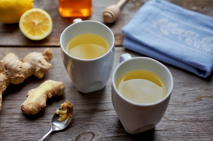 دمنوش عسل و زنجبیل