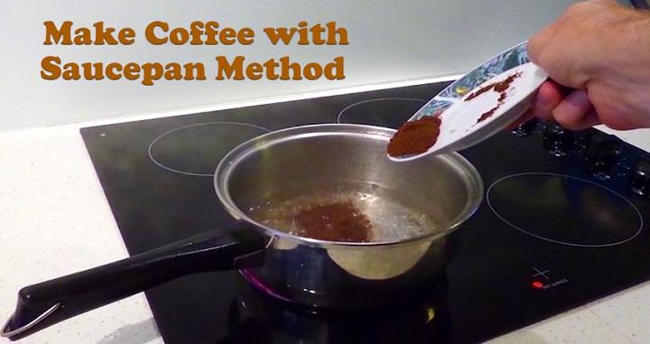 طرز تهیه قهوه با ماهیتابه