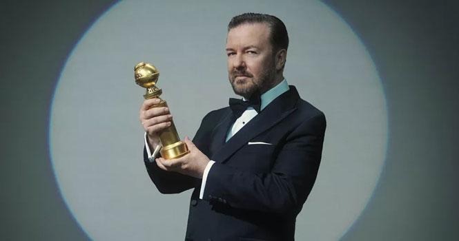 ریکی جرویز مجری مراسم اهدای جوایز گلدن گلوب 2020