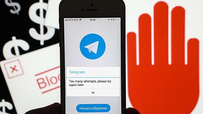 رفع خطای Too Many Attempts تلگرام ؛ حل مشکل خطای بیش از حد مجاز امتحان کردید تلگرام
