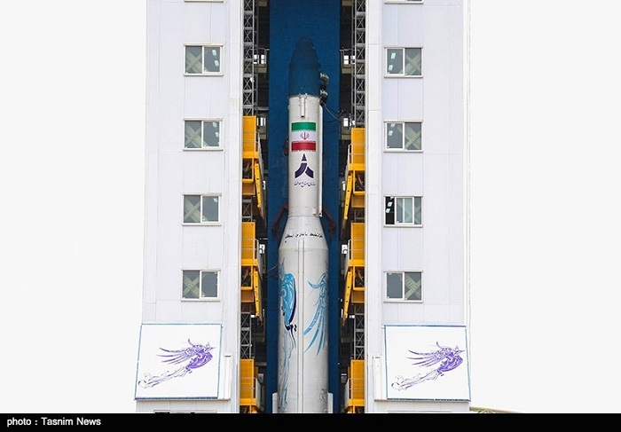 موشک ماهواره بر سیمرغ