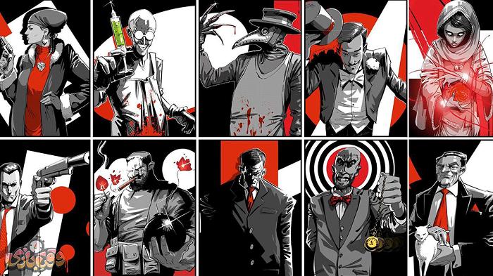 نقش های بازی مافیا