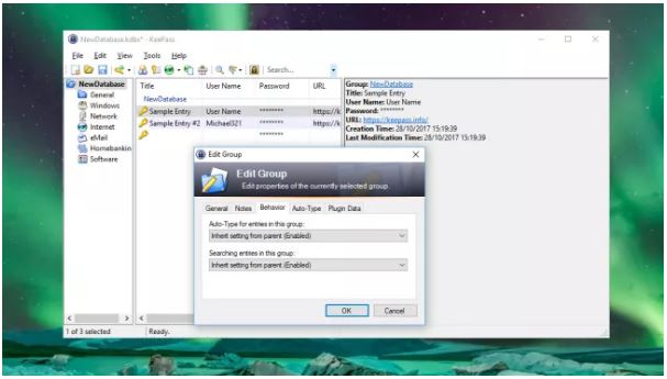 کی پس پسوورد سیف (KeePass Password Safe): یک نرم افزار مدیریت پسوورد غیرتجاری برای کاربران حرفهای