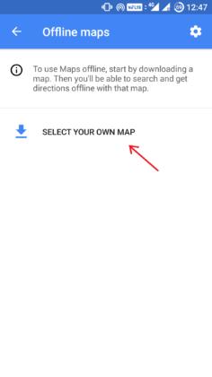 ذخیره کردن نقشههای گوگل برای استفاده به صورت آفلاین