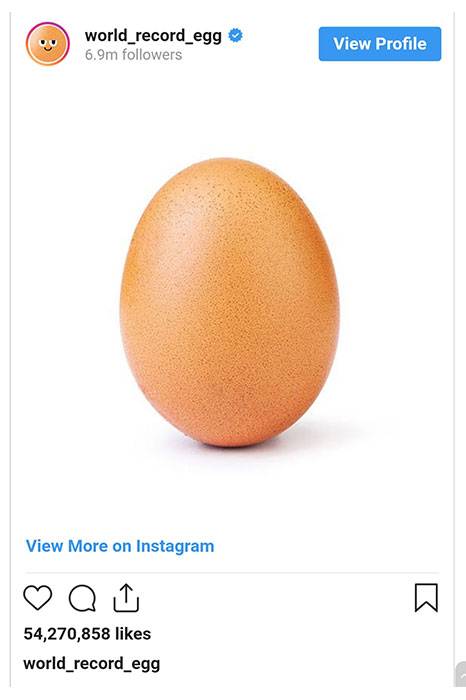 یک تخم مرغ