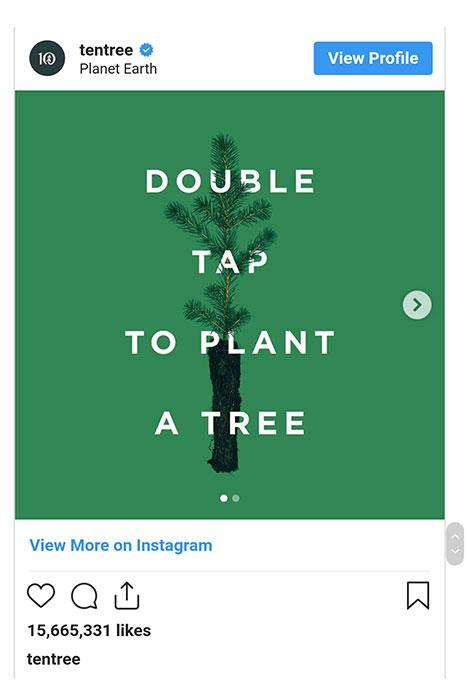 لایک کنید تا درخت بکاریم