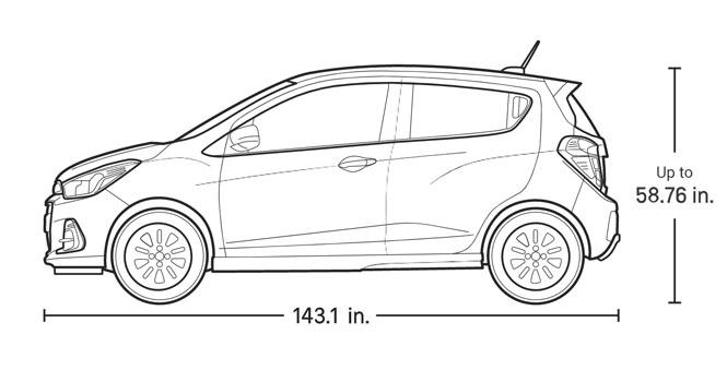 شورولت اسپارک 2020 ؛ بررسی و مشخصات فنی ارزان ترین خودروی آمریکا