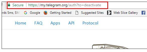 برای حذف اکانت تلگرام در اندروید یا آیفون