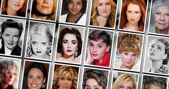 بهترین بازیگر زن هالیوود ؛ ردهبندی بهترین هنرپیشگان و بازیگران زن تاریخ سینمای جهان