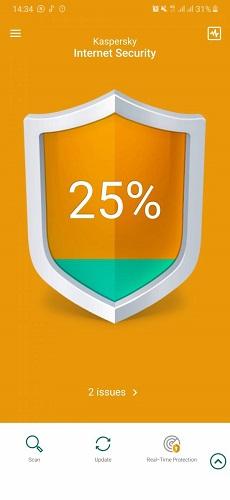 کاسپراسکای موبایل آنتی ویروس (Kaspersky Mobile Antivirus)