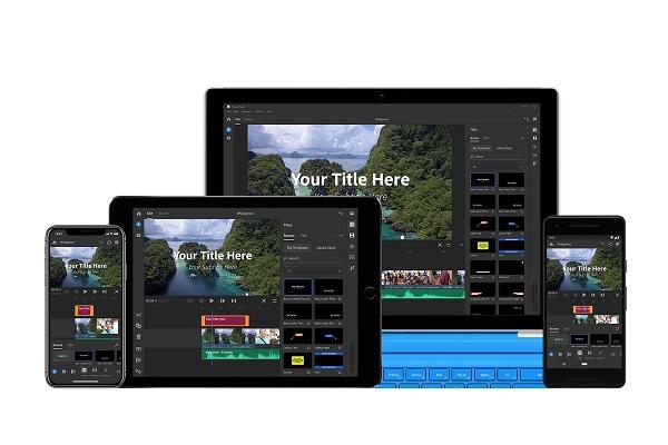 آدوب پریمیر راش سی سی (Adobe Premiere Rush CC)