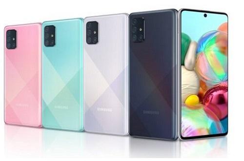 سامسونگ گلکسی اِی 71 (Samsung Galaxy A71)